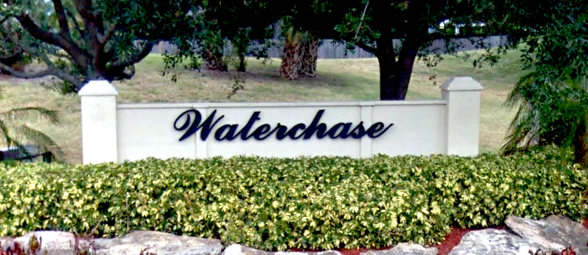 Waterchase Sign